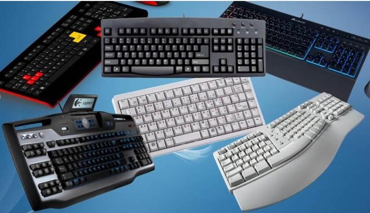 Виды клавиатур ПК.